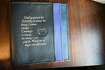 NA Basic Text (6th Edition-Hardback) Book Covers w/ Serenity Prayer & Medallion Holder