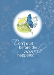 Butterfly  Recovery Encouragement, 12 Step Card