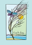 Each Day...  Butterfly Recovery Greeting Cards