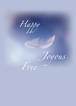 Happy Joyous Free Recovery Greeting Card