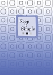 Keep It Simple Recovery Greeting Cards