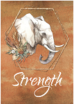 Strength Greeting Card