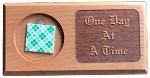 One Day At A Time Mini Bar Medallion Holder