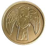 Guardian Angel Antique Bronze Recovery Coins  AA|NA|Al-Anon