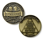 Old Timers Honoree Bronze Specialty AA Coins
