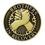 Brothers In Recovery Bronze Affirmation Tokens  AA|NA