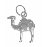 Sterling Silver Camel Pendant AA Recovery Jewelry
