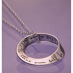 To Thine Own Self Be True Sterling Silver Necklace  AA|NA|Al-Anon