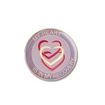 My Heart is in My Recovery Lapel Pin