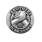Brothers In Recovery Lapel Pin