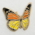 Butterfly Lapel Pin