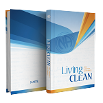 NA Living Clean Hardcover