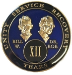 Blue Bill and Bob Triplate AA Coins