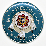 In The Spirit Of Love  Native American Inspirational AA Coin