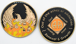 AA Medallion Out of the Ashes Phoenix Coin