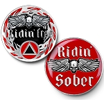 Ridin' Free Triplate Specialty AA Medallions