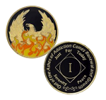 NA Coin Out Of The Ashes Phoenix Anniversary Medallion