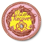 Sisters in Recovery Rose Gold Premium Specialty Medallions  AA|NA|Al-Anon