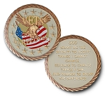 Vets in Recovery Triplate Specialty AA Medallions  AA|NA|Al-Anon