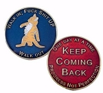 Walk In Walk Out Recovery Medallion