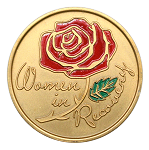 Women in Recovery Painted Medallion