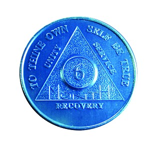 Six Month Aluminum AA coin
