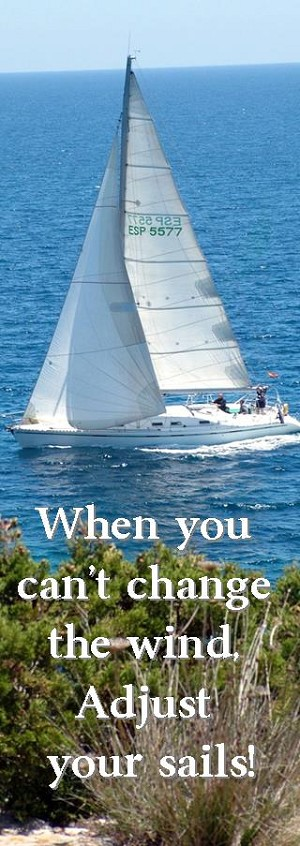 Adjust Your Sails Bookmark
