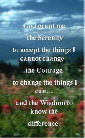Serenity Prayer Wallet Cards