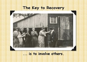 The Key to Recovery, Recovery Humor Card