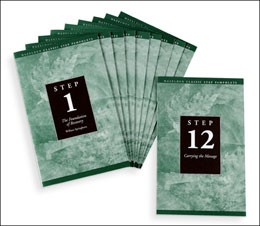 AA 12 Step Pamphlets from Hazelden