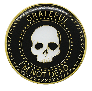 Grateful I'm Not Dead Recovery Medallion AA NA