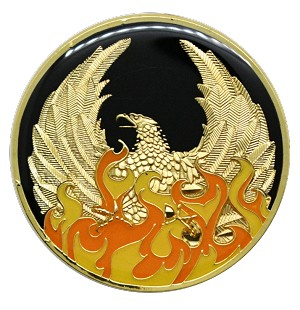 NA Medallion Out of the Ashes Phoenix Coin